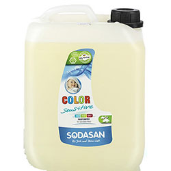 SODASAN Organic Laundry Liquid Detergent (COLOR, Sensitive) 5L