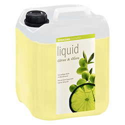 SODASAN Organic Liquid Soap (Citrus & Olive) 5L