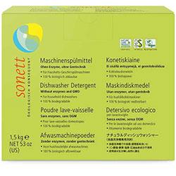 Sonett Organic Dishwasher Detergent 1,5 Kg