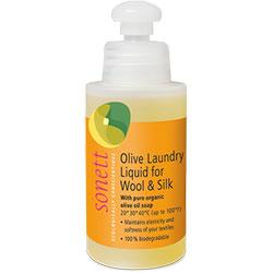 Sonett Organic Olive Laundry Liquid for Wool and Silk Neutral (Travel Size) 120ml