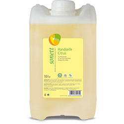 Sonett Organic Liquid Hand Soap (Citrus) 10L