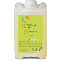 Sonett Organic Dishwashing Liquid (Lemon) 5L