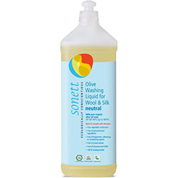 Sonett Organic Olive Laundry Liquid for Wool and Silk 1L