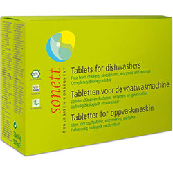 Sonett Organic Tablets for Dishwashers 25 Pcs (x20g)