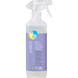 Sonett Organic Multi-Surface and Glass Cleaner 500ml