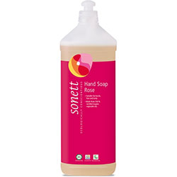 Sonett Organic Liquid Hand Soap (Rose) 1L