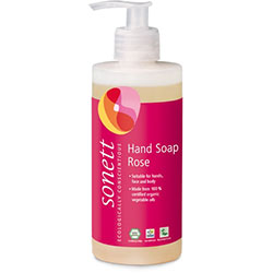 Sonett Organic Liquid Hand Soap (Rose) 30ml