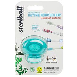 Steriball Toothbrush Protector For Kids (Green)