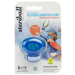 Steriball Toothbrush Protector For Kids (Boys, Transparent)