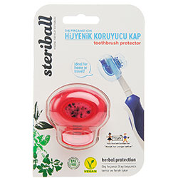 Steriball Toothbrush Protector (Red)