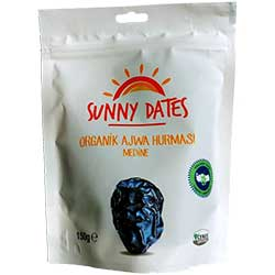 Sunny Dates Organic Ajwa