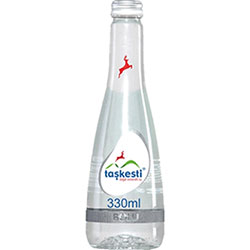 Taşkesti Natural Mineral Water 330ml (Glass Bottle)