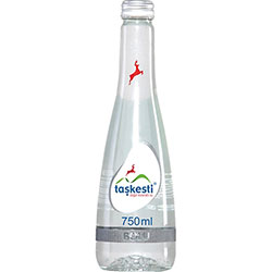 Taşkesti Natural Mineral Water 750ml (Glass Bottle)