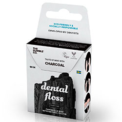 The Humble Dental Floss (Charcoal) 50m