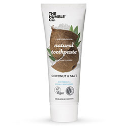 The Humble Organic Toothpaste (Cocomut & Salt) 75ml