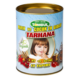 Tombul Organic Tarhana (For Baby & Child, 7 Month+) (Soup with Tomato and Yoghurt) 500g