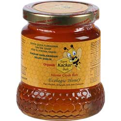 Topri Kaçkar Organic Flower Honey 500g