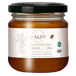 Umay Herbal Organic Chestnut Flower Honey 230g