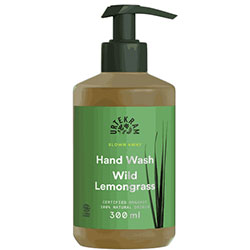 Urtekram Organic Blown Away Liquid Hand Soap (Wild Lemongrass) 300ml