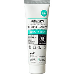 Urtekram Organic Strong Mint Sensitive Toothpaste 75ml