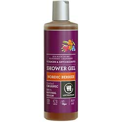 Urtekram Organic Shower Gel (Nordic Berries) 250ml