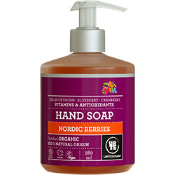 Urtekram Organic Nordic Berries Hand Soap 380ml