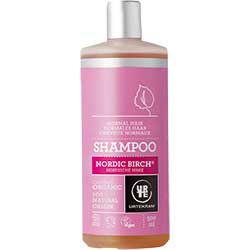 Urtekram Organic Shampoo (Nordic Birch, Normal Hair) 500ml