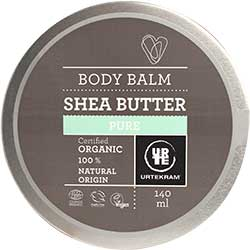 Urtekram Organic Shea Butter Body Balm (Pure) 140ml
