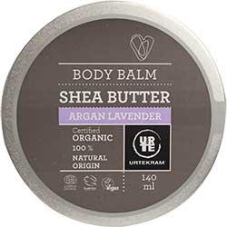 Urtekram Organic Shea Butter Body Balm (Argan Lavender) 140ml