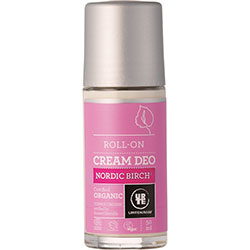 Urtekram Organic Nordic Birch Cream Deo Roll-on 50ml