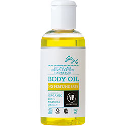 Urtekram Organic Baby Body Oil (No Perfume) 100ml