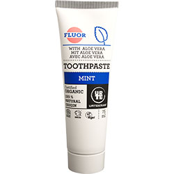 Urtekram Organic Mint Toothpaste (With Fluoride) 75ml