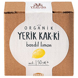 Yerlim Organic KAK-Kİ Dried Lemon Roll-up 50g