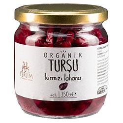 Yerlim Organic Red Sauerkraut 350g