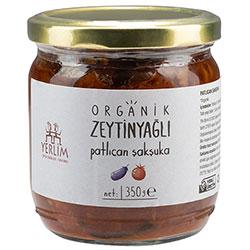 Yerlim Organic Şakşuka (Aubergines in Tomato Sauce) 350g