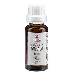 Yerlim Organic Almond Oil 20ml