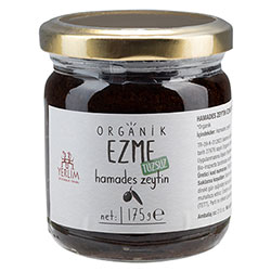 Yerlim Organic Black Olive Paste (Saltless) 175g
