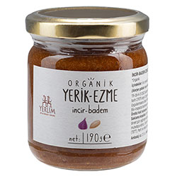 Yerlim Organic Almond Paste With Pig Molasses 190g