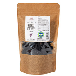 Yerlim Organic Dried Black Seeded Grape 250g