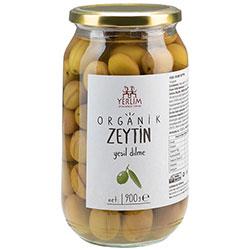 Yerlim Organic Green Olive (Brined) 900g