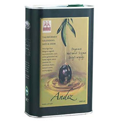 Yerlim Organic Extra Virgin Olive Oil (Andız Cold Press, 2nd Press) 1000ml (Tin)