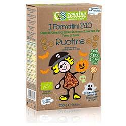Zerotre Organic Pasta With Vegetables (Pumpkin, Ruotine) 250g