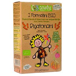 Zerotre Organic Pasta With Pumpkin & Carrot & Tomato (Rigatoncini) 250g