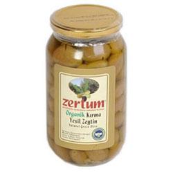 Zertum Organic Green Olive 1000g
