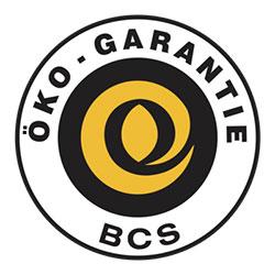 BCS Öko-Garantie Organik Tarım Sertifikası