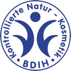 BDIH Naturel Cosmetics Certified