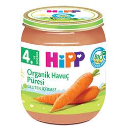 HiPP Organik Havuç Püresi Kavanoz Maması 125gr