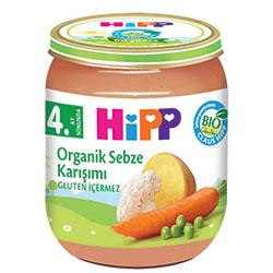 HiPP Organik Sebze Karışımı Kavanoz Maması 125gr