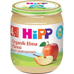 HiPP Organik Elma Püresi Kavanoz Maması 125gr