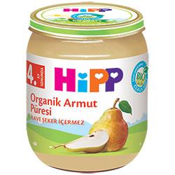 HiPP Organik Armut Püresi Kavanoz Maması 125gr